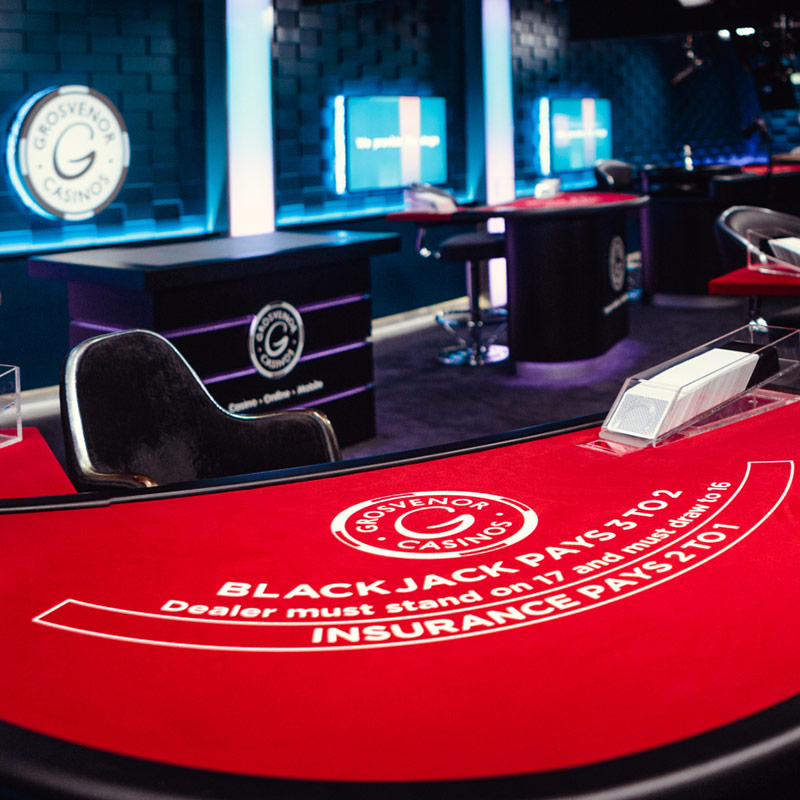 Live Casino Interior Design